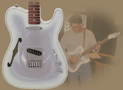 The Gigliotti 'GT Standard' Electric Guitar w/ White finish
